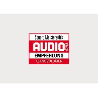 Sonoro Meisterstück V2 audiosysteem Notenhout