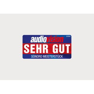Sonoro Meisterstück V4 audiosysteem Notenhout