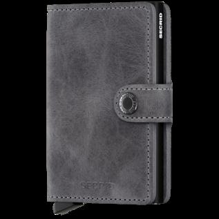 Secrid Miniwallet Vintage Grey-Black