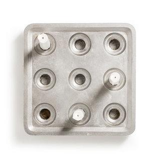 Born in Sweden Stumpastaken 3x3 Recycled Aluminium