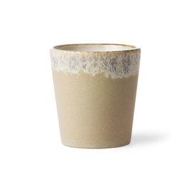 HK living 70s ceramics: coffee mug, bark