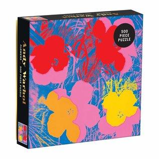 VerwonderinG Andy Warhol Flowers 500 Piece Puzzle