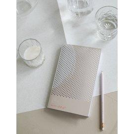 tinne+mia I'll be me Notebook - White
