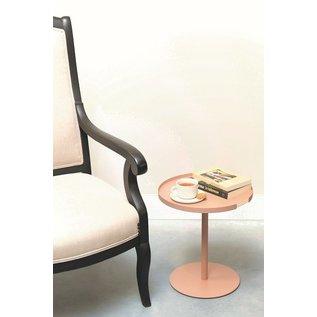 DesignBite DesignBite Big Hug Side Table Round Base - blush