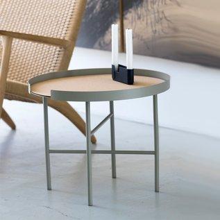 DesignBite BIG HUG COFFEE TABLE ROUND - bone