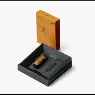 Orbitkey Key Organiser Set Espresso with Brown Stitching