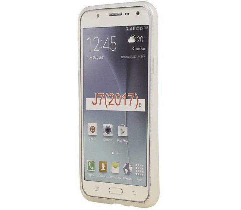TPU Hoesje voor Galaxy J7 2017 Wit