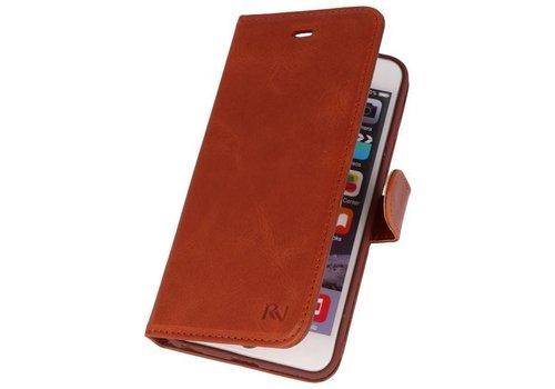 Rico Vitello Bruin Echt Leder Hoesje iPhone 6 Plus