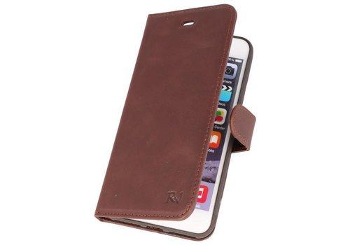 Rico Vitello Mocca Echt Leder Hoesje iPhone 8 / 7 Plus