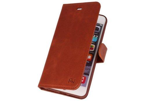Rico Vitello Bruin Echt Leder Hoesje iPhone 8 / 7 Plus