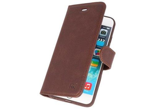 Rico Vitello Mocca Echt Leder Hoesje iPhone 6