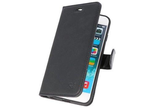 Rico Vitello Zwart Echt Leder Hoesje iPhone 6