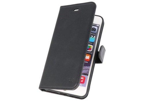 Rico Vitello Zwart Echt Leder Hoesje iPhone 8 / 7