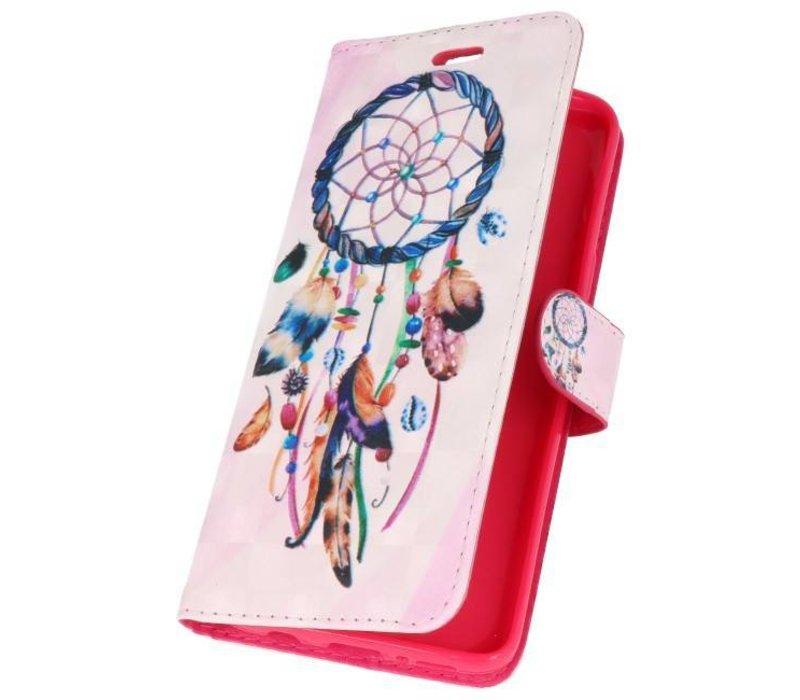Bookstyle Hoesje voor Galaxy S9 3D Print Dromenvanger