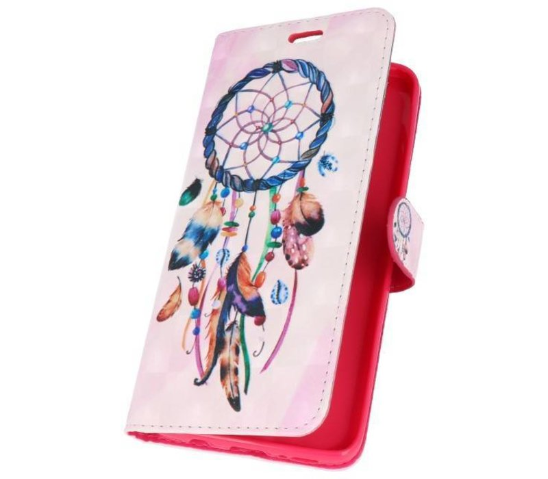 Bookstyle Hoesje voor Galaxy S9 Plus 3D Print Dromenvanger