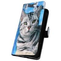 Bookstyle Hoesje voor Galaxy S9 Plus 3D Print Cat