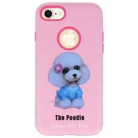 3D Print Hard Case voor iPhone 8 The Poodle