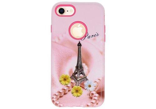 3D Print Hard Case voor iPhone 8 Paris