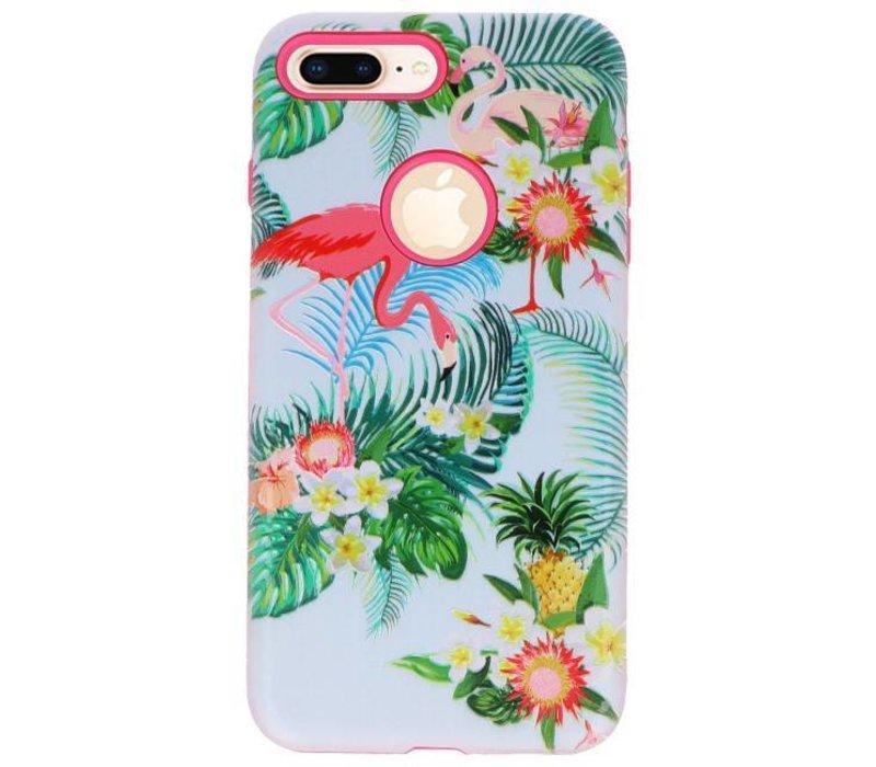 3D Print Hard Case voor iPhone 8 Plus Flanmingo