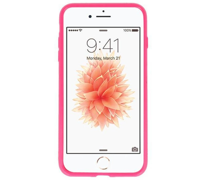 3D Print Hard Case voor iPhone 8 Plus Roses