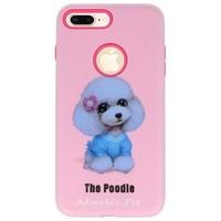 3D Print Hard Case voor iPhone 8 Plus The Poodle