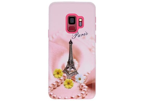3D Print Hard Case voor Galaxy S9 Paris