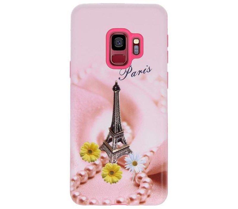 3D Print Hard Case voor Galaxy S9 Paris