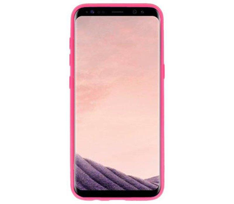 3D Print Hard Case voor Galaxy S8 Flamingo