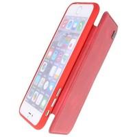 Back Cover Book Design Hoesje voor iPhone 8 Plus Rood