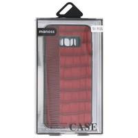 Croco Hard Case voor Samsung Galaxy S8 Plus Rood