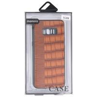 Croco Hard Case voor Samsung Galaxy S8 Bruin