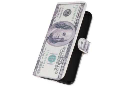 Dollar Bookstyle Hoesje voor Galaxy S8 Plus