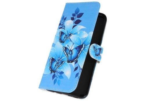 Vlinders Bookstyle Hoesje voor Galaxy S8 Plus