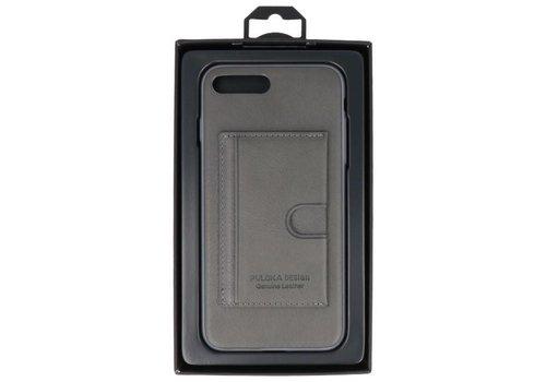 Hardcase Hoesje voor iPhone 7 / 8 Plus Grijs