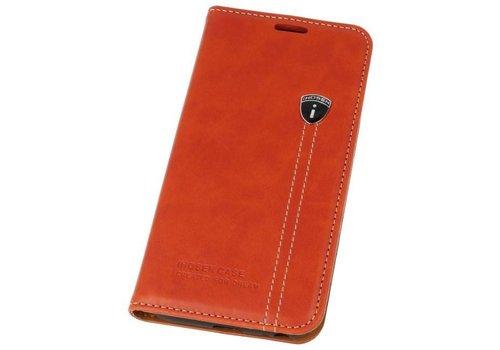IHOSEN Wallet Cases voor Galaxy J3 2017 Rood
