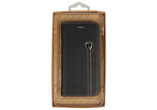 IHOSEN Wallet Cases voor iPhone 7 / 8 Plus Zwart