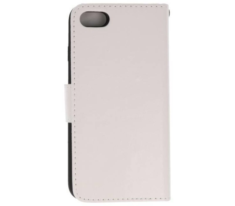 Backcase Bookhoesje voor iPhone 7 / 8 Wit