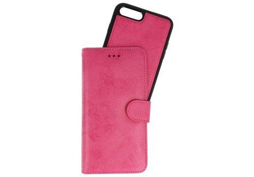 Backcase Bookhoesje voor iPhone 7 / 8 Plus Roze