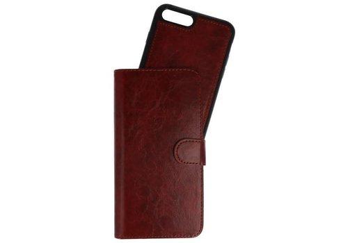 Backcase Bookhoesje voor iPhone 7 / 8 Plus Bruin