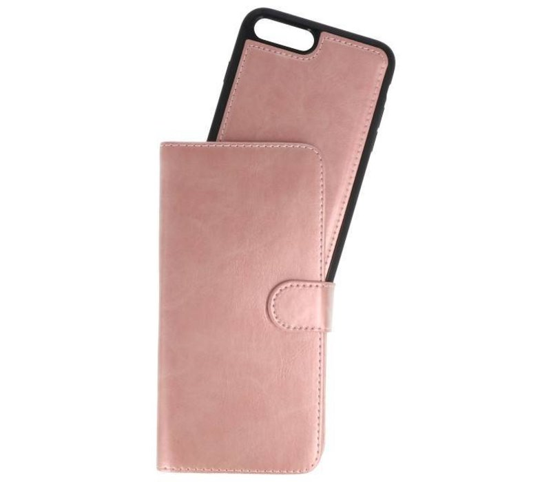 Backcase Bookhoesje voor iPhone 7 / 8 Plus Goud