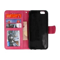 Backcase Bookhoesje voor iPhone 6 Roze