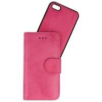 Backcase Bookhoesje voor iPhone 5 Roze