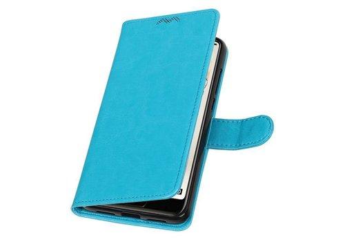 Huawei P20 Pro Portemonnee hoesje booktype wallet Turquoise