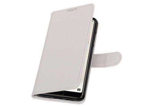 Huawei P20 Pro Portemonnee hoesje booktype wallet Wit
