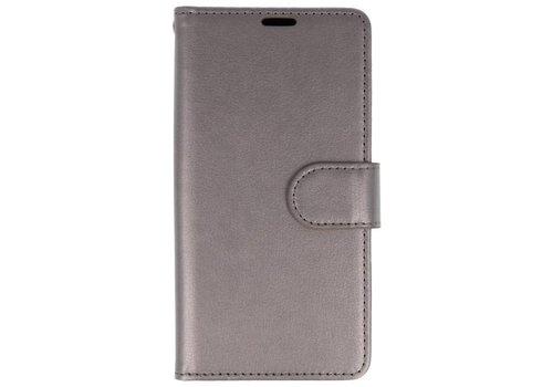Wallet Cases Hoesje voor Huawei P20 Pro Grijs