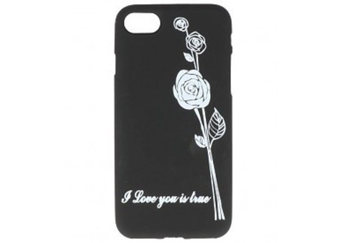 TPU Hoesje Back Cover voor iPhone 7 / 8 Rose