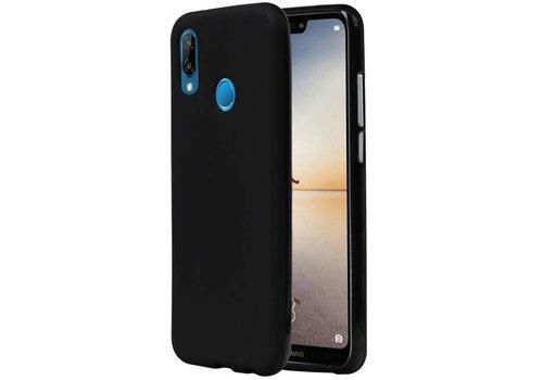 TPU Hoesje voor Huawei P20 Lite Zwart