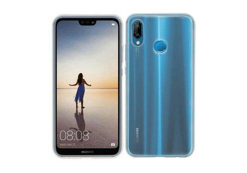TPU Hoesje voor Huawei P20 Lite Transparant