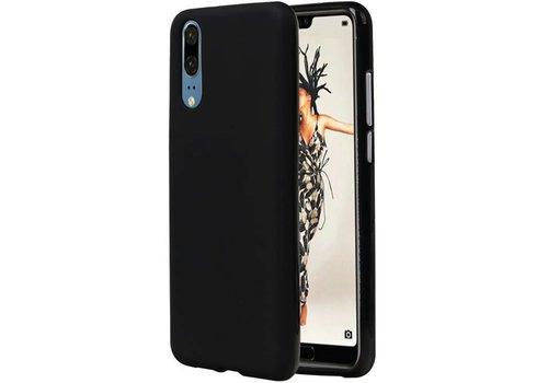 TPU Hoesje voor Huawei P20 Zwart