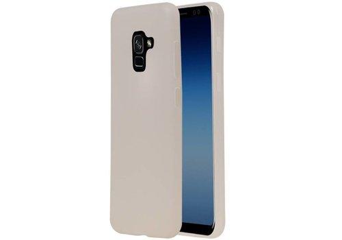 TPU Hoesje voor Galaxy A8 / A5 (2018) Wit